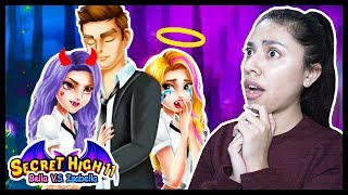 HE CHEATED ON ME WITH MY EVIL TWIN! - SECRET HIGH SCHOOL 11 - Bella vs Isabella