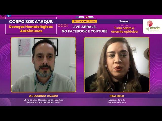 Tudo sobre a Anemia Aplásica com Dr. Rodrigo Calado