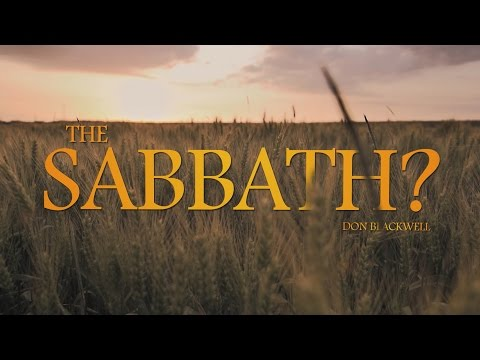 The Truth About the Sabbath?