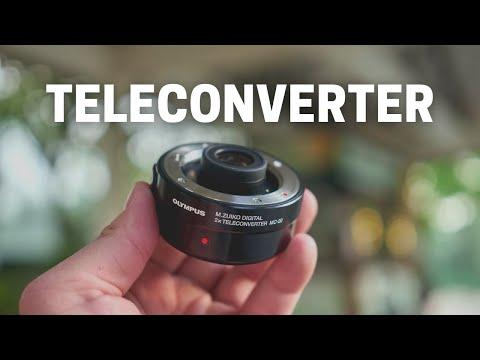 Olympus M.Zuiko MC-20 2X Teleconverter Lens - Hands On Impression