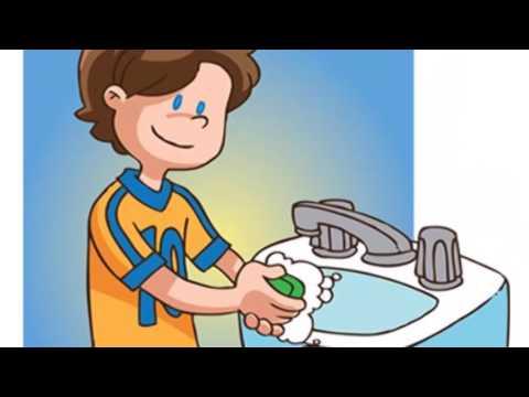Cancion infantil lavarse las manos youtube - Dibujos pared habitacion infantil ...