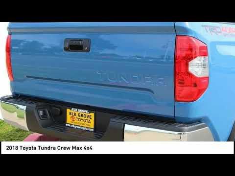 2018 Toyota Tundra Crew Max 4x4 Elk Grove Toyota 118976