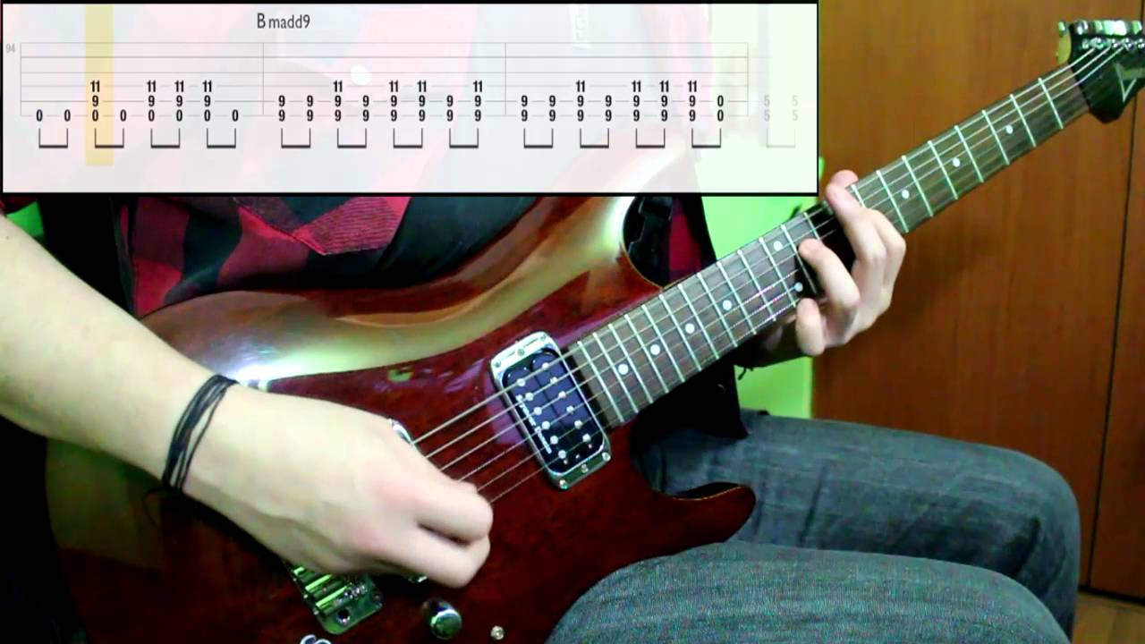 Foo Fighters - Everlong (Guitar Cover) (Play Along Tabs In Video)