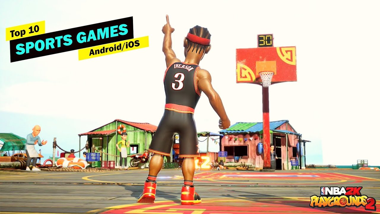 Top 10 Best Sports Games For Android/iOS 2019! [Offline/Online] #2