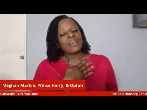 Let's talk about Meghan Markle and Prince Harry's Interview with Oprah