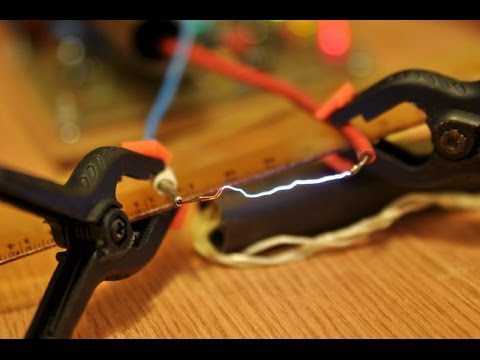 Electric fence circuit #1 - YouTube