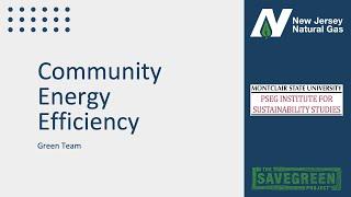 New Jersey Natural Gas 2020 Green Team Final Presentation