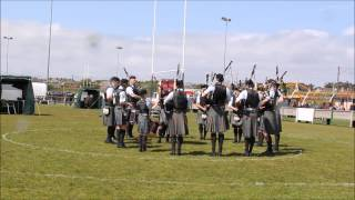 Dunbar 2015  - Stockbridge Pipe Band (Grade 4 MSR)