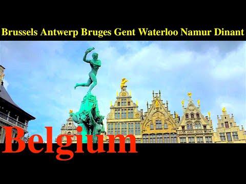 Belgium (Brussels, Antwerp, Bruges, Gent, Waterloo, Namur, Dinant)