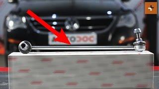 Jak wymienić łącznik stabilizatora przedniego w VW PASSAT CC 1 TUTORIAL | AUTODOC