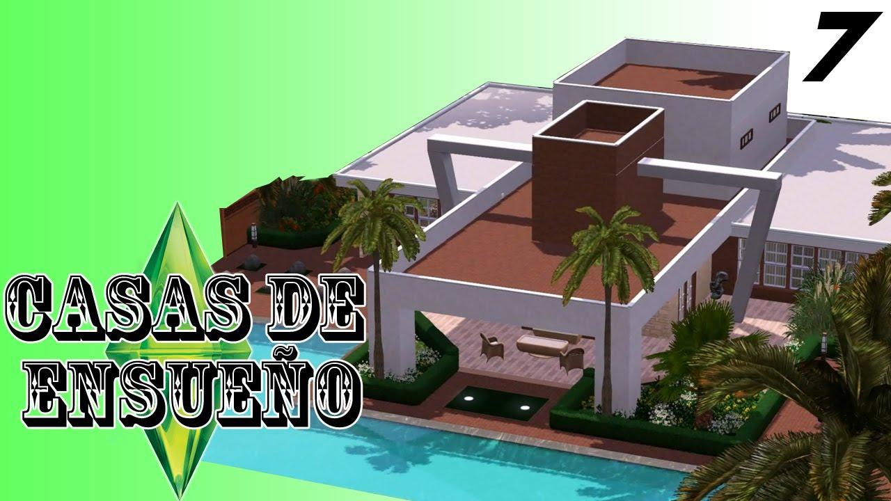 Casas de ensue o casa 7 serie sims 3 descarga youtube for Planos casas sims