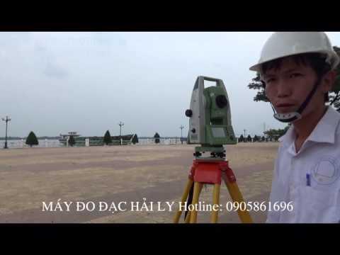 MAY TOAN DAC LEICA TS 09 dinh huong bang 2 diem toa do phan 2   Trac dia Hai Ly