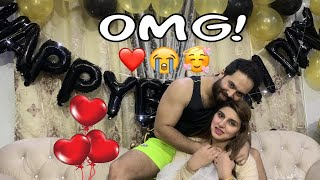 Birthday Surprise For My Wife | I Made Her Cry | HINA MALIK | Hina & Ahmed
