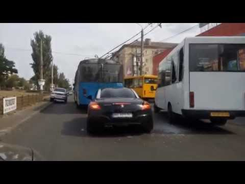 ДТП в Николаеве на проспекте Ленина в районе Центрального рынка