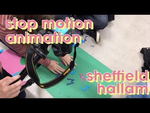 Making Animations @ Sheff Hallam | Graphic Design Course Vlog