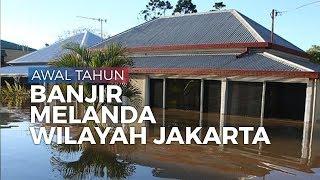 Hujan Tak Kunjung Berhenti, Banjir Rendam Sejumlah Wilayah di DKI Jakarta