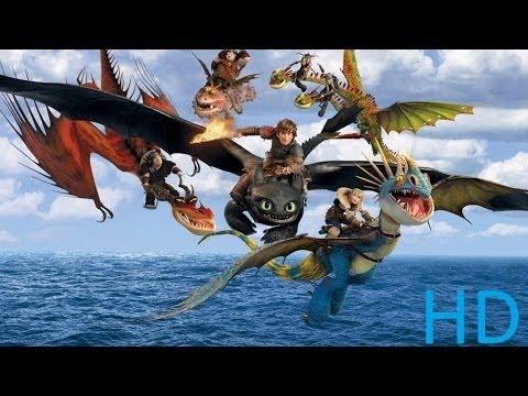 Como treinar seu dragao 2   Filmes de animação completos dublados