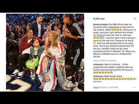 Jokate aeleza alivyopiga picha na Jay Z na Beyonce 'The Carters' na mastaa kibao Marekani