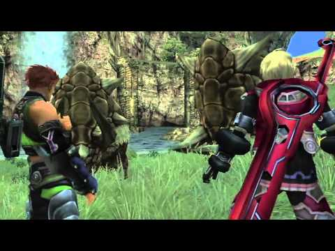 Xenoblade Chronicles - Gameplay