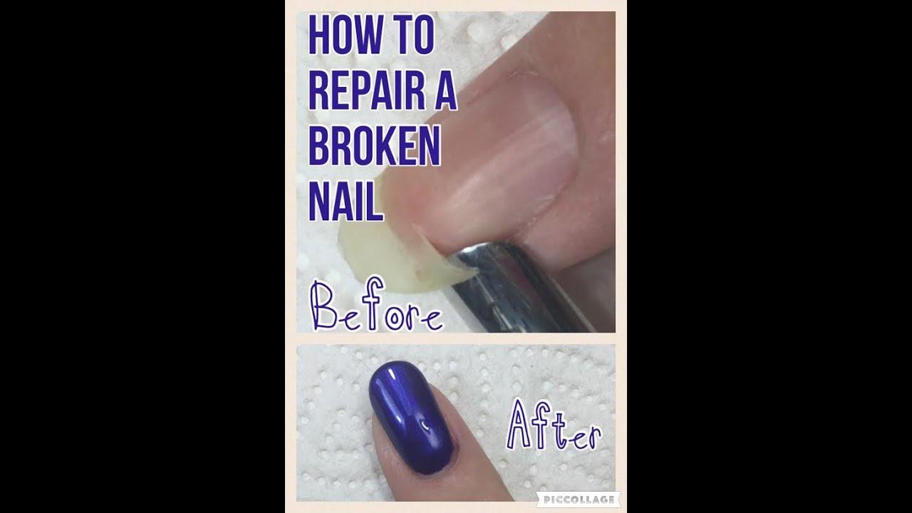 Broken Nail Repair