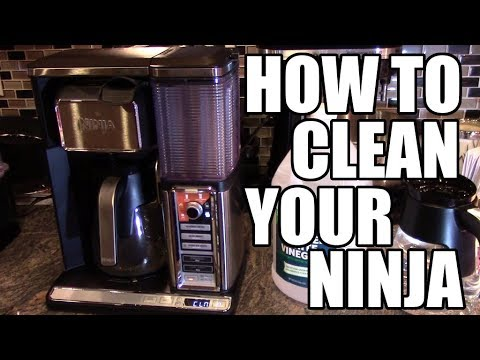 HOW TO CLEAN the Ninja Coffee Bar
