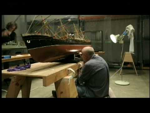 The Thomson Collection of Ship Models Installation Timelapse
