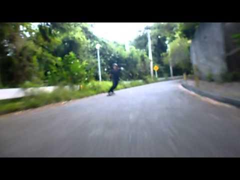 Most brutal longboard crash ever. Wear your helmet people!