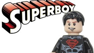 "LEGO Batman 2 DC Super Heroes Justice League Custom ""Superboy"" Review"