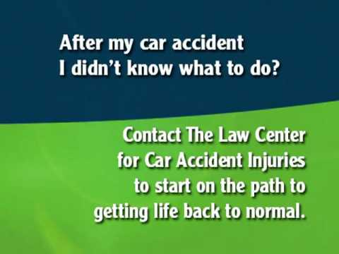 Oklahoma Car Accident Injury Claim Process Chapter 4 - What Should I Do?