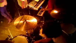 4.22 Rhyming Cafe LIVE ドラムアングルカメラ ZOOM Q3.