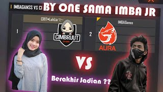 BY ONE VS IMBA JR !! YANG BAPER KALAH ?? AUTO SALTING