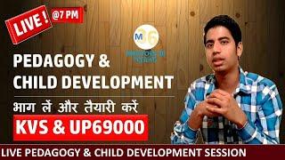 Live Pedagogy & Child Development For KVS & UP 69000