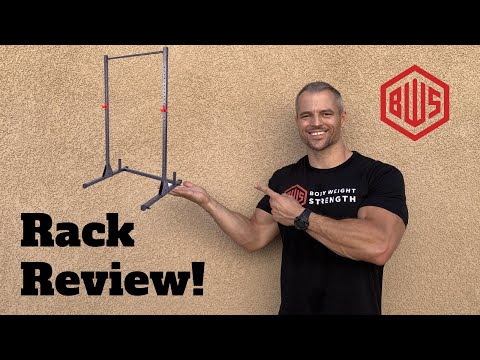 Review: Pull-up Bar/ Squat Rack By Cap Strength