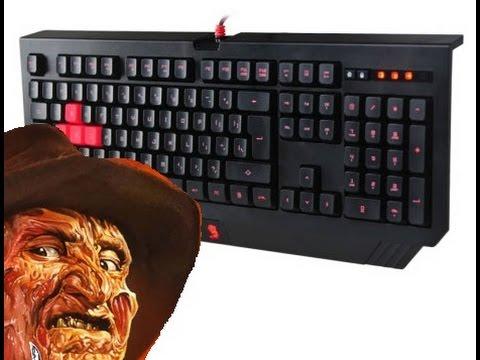Unboxing Клавиатуры A4Tech Bloody B120 by Freddy