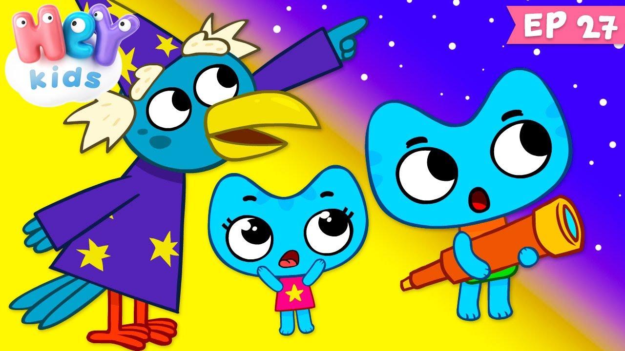 Kit și Keit: Steluțe cu dorințe - Desene animate pentru somn   HeyKids