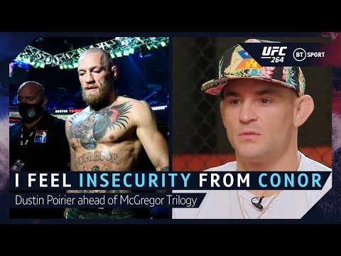 """""""I feel insecurity from McGregor"""" Dustin Poirier UFC 264 Interview with Michael Bisping"""