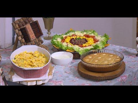 كسرولة الدجاج والخضار - سلطة التاكو المكسيكية : زعفران وفانيلا (حلقة كاملة)