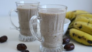 Ragi Energy Drink l Iftar recipe l റാഗി ഡ്രിങ്ക് l Finger millet drink with dates