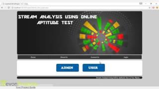 Stream Analysis For Career Choice Aptitude Tests