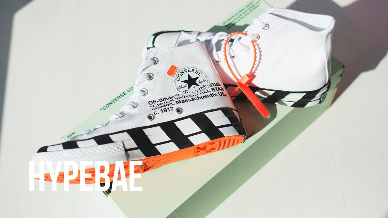 6a59c16b36bd Unboxing Off-White™ x Converse's New Chuck 70 | HYPEBAE