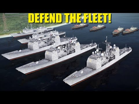 Falklands Campaign: Reapers Defend US Fleet At Port Stanley From Argentine Incursion | DCS