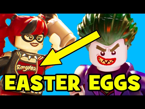 Lego Batman Movie ALL EASTER EGGS & References