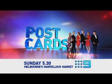 Channel 9 postcards show