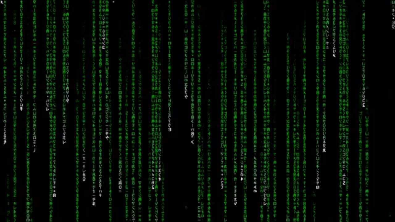 Matrix Falling Code Wallpaper 1 Hour Matrix Rain Code Youtube
