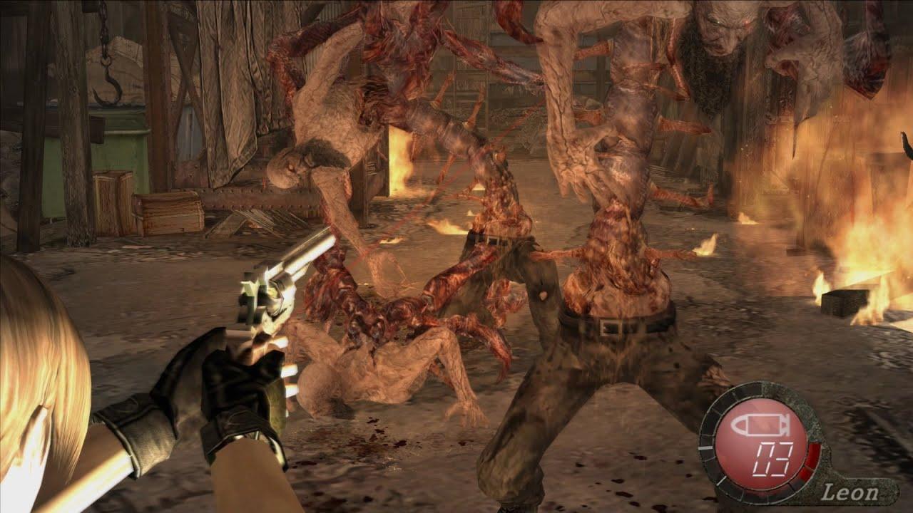 Resident evil 4 - MOD RISING OF EVIL  - Parte 28 - WTF 3 alcaldes y son todos para mi