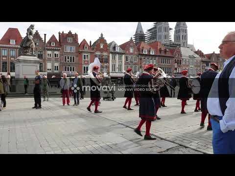 Большая процессия в Турне (Бельгия) GRANDE PROCESSION DE TOURNAI