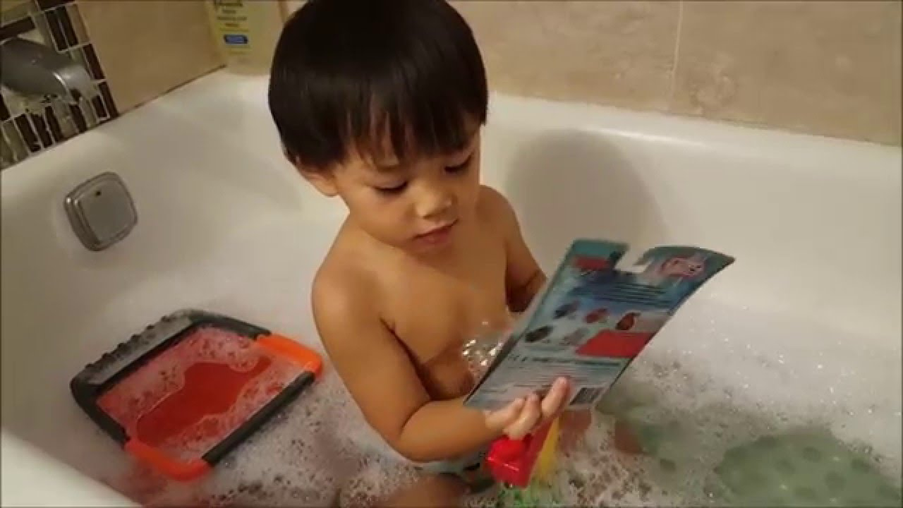 Spiderman Bubble Bath/Disney Lightning Mcqueen : Antoine\'s Adventure ...