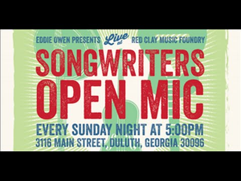 EOP Songwriter's Open Mic 8/9/15