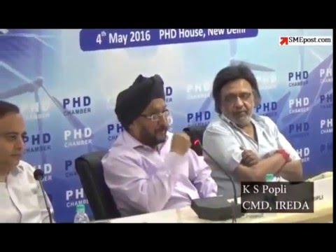 """Conference on """"Achieving 100 GW of Solar Dream by 2022"""" at PHD House, New Delhi on 4th May 2016"""