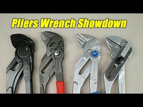 "Pliers Wrench Showdown (250mm/10"")"